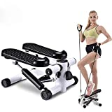 BSET BUY Stepper für Zuhause,Twister Stepper mit Power Ropes Drehstepper Sidestepper...