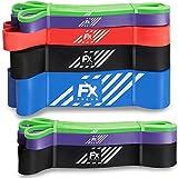 FFEXS Fitnessbänder - Set von 3 Klimmzugbänder für Klimzughilfe - Pull Up Band Widerstandsband -...