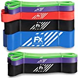 FFEXS Fitnessbnder - Set von 3 Klimmzugbnder fr Klimzughilfe - Pull Up Band Widerstandsband - Latex...