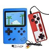 Handheld Spielkonsole Retro Mini Game Player mit 400 klassischen FC-Spielen, Handkonsole...