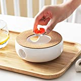 Stvchen Teekanne Basis Porzellan Heizung Keramik Wei Teewrmer, Kaffeekocher Stvchen Basis Mit...