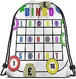 Lucky Bingo Shirt Kordelzug Sport Sporttasche Reisetasche Geschenktüte