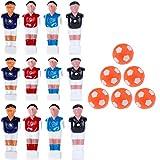 SM SunniMix Foosball Men Table Guys Fußballspieler Foosballs Table Game Ersatz
