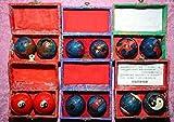 Qi Gong Kugeln traditionelle Gesundheit, Schwarz, versandkostenfrei