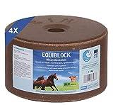 imima EQUIBLOCK 4er Set Mineralleckstein, 4X 3kg