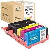 4 Superpage Kompatibel für HP 903 903XL Wiederaufbereitet Tintenpatronen für HP OfficeJet Pro 6860...