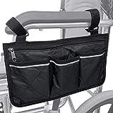 Rollsthle Zubehr Rollstuhltasche Aufbewahrungstasche - Rollstuhl Tasche fr Rollstuhlarmlehnen,...