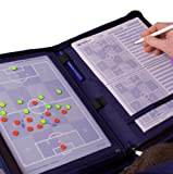 bfp Versand Unisex Erwachsene bfp Chefplaner Trainermappe A4 | Taktikmappe blau