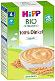 Hipp Bio-Getreide-Brei 100% Dinkel ohne Zuckerzusatz, 3er Pack (3 x 200g)