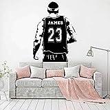 wukongsun Benutzerdefinierte Namen Basketball Jersey Spieler Wandaufkleber personalisierte Namen...