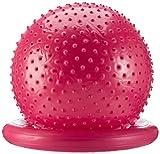 Carnegie Massageball Ø 65 Noppenball Gymnastikball Sitzball + Ballschale & Pumpe