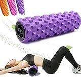 Hohl Yoga Säule Körperentspannung Massage Schaumstoffrolle Fitness-Trainingsgeräte