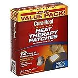 Cura-Heat Wärmetherapie-Patches, luftaktiviert, für Nacken, Schulter und Rücken, Vorteilspackung...