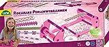 Lena 42682 Bastelset Perlenwebrahmen, Komplettset zum Weben von Freundschaftsbändern mit Webrahmen,...