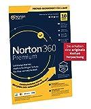 Norton 360 Premium 2020, 10-Geräte, 1-Jahres-Abonnement mit Automatischer Verlängerung, Secure VPN...