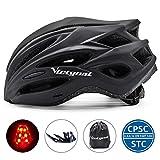 VICTGOAL Fahrradhelm Herren Damen MTB Mountainbike Helm mit Visier Abnehmbarer Sonnenschutzkappe und...