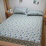 JRDTYS Matratzen-Bett-Schoner mit Spannumrandung |Microfaser | 100% PolyesterDie Bettdecke ist...