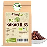 Kakaonibs Roh Bio Vegan (1kg) ohne Zuckerzusatz Kakao Nibs aus der Criollo Kakao-Bohne vom-Achterhof