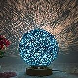 XLWWLG Nachtlicht Stern Projektionslampe Nachttischlampe Geburtstagsgeschenk Usb Lade Kinder Schlaf...