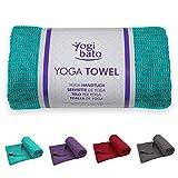 Yogibato Yoga Handtuch rutschfest & schnelltrocknend – Yogahandtuch Antirutsch – Mikrofaser...