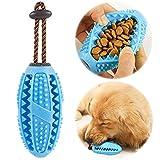 onebarleycorn – Hund Zahnbürsten Stick, Hundespielzeug Ball Hundeball mit Zahnpflege...