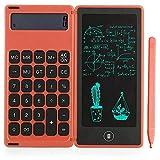 Monland Rechner Notepad 6-Zoll-LCD-Schreibtafel Digitales Zeichenpad mit Stylus Pen Erase Button...