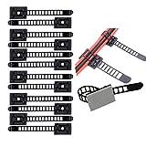 Summerwindy Verstellbare Kabelhalter Set Management,Kabel Clips von Kabelbefestigung Drahthalter mit...