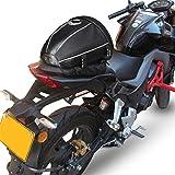 AKAUFENG Motorrad-Hecktasche Hecktasche Motorrad Hecktasche Motorradgepäck Tasche...