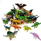 GuassLee OuMuaMua Dinosaurier Figur Spielzeug 78 Pack - Kunststoff Dinosaurier Set Kinder Kleinkind...