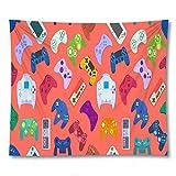 PPOU Teen Gamer drucken nach Hause dekorative Teppich Tapisserie Decke Wand Schlafzimmer Hintergrund...