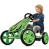 Hauck Toys For Kids GoKart Speedster - Pedal Go-Cart mit Handbremse und verstellbarem Sitz für...