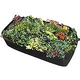 Hochbeet Pflanzsack aus Vliesstoff, Gemüsebeutel, Atmungsaktiv Vliesstoff, Pflanzsäcke Garten...