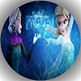JMD Fondant Tortenaufleger Tortenbild Kompatibel zu Frozen Y8
