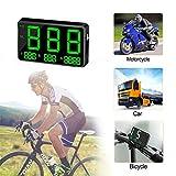 bulrusely C80 Universal-HUD GPS Tacho Auto HUD Head Up Display-Digital-Auto GPS-Tachometer,...