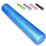 arteesol Standard Faszienrolle, Fitness Faszienrollen Runde Massagerolle 30/45/60/90cm × 15cm...