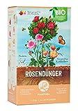 Plantura Bio Rosendünger mit 3 Monaten Langzeitwirkung, 1,5 kg, für prächtige Rosen in Beet &...