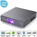 Mini Beamer, OTHA DLP Beamer 3000 Lumen Projektor 300' Display, Unterstützung 1080P/4K Video,...