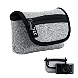 JJC Neopren Kameratasche für Sony RX100 III IV V VA VI VII HX99 HX95 HX90 HX60V HX60 / Olympus TG-6...