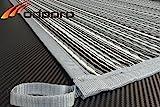 Schlauchland Zeltteppich ´´´odooro WAVETEX Stripe 2,7m x 6m *** 400 g/m² Outdoor Teppich Vorzelt...