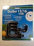 JBL OutSet wide 60155 Auslaufrohr Komplett-Set mit Breitstrahlrohr für Außenfilter von Aquarien