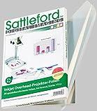 Sattleford Transparentpapier: 50 Inkjet-Overhead-Folien, DIN A4, transparent (Overheadfolie...