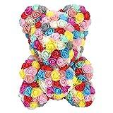 Künstliche Rose teddybär Rose bär Spielzeug ewige Blume mit bär geformt ewige Blume Geschenk...