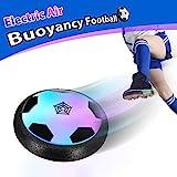 Theefun Air Power Fußball Air Football mit LED Beleuchtung Indoor fußball Air Fussball...