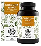 Curcuma Extrakt - Curcumin Gehalt EINER Kapsel entspricht dem von ca. 15.000mg Kurkuma - Hochdosiert...