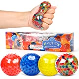INPODAK Anti-Stress-Bälle für Kinder und Erwachsene, Spielzeug zur Angstlinderung, bunt,...