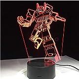 Upinfan Spielzeug Actionfiguren Spielzeug 3D Led Nachtlicht Mit 7 Bunten Lichtern Kinder Jungen...