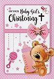 Taufkarte für Mädchen