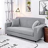 femor Sofabezug Sofa Überwürfe 2/3 Sitzer Stretch elastische Sofahusse Sofa Abdeckung mit...