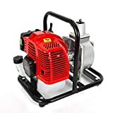 43cc Gartenpumpe Benzin Benzinmotor Wasserpumpe Garten Brunnen Teich Pumpe Zoll Motor...