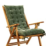 KTOL Sitzkissen Gartenstuhlauflage, Indoor Outdoor Stuhlauflagen Hochlehner-Auflage Sitzauflage...